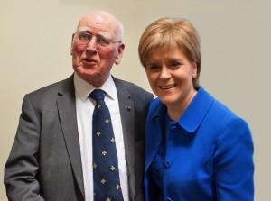 Philip Dolan and Nicola Sturgeon