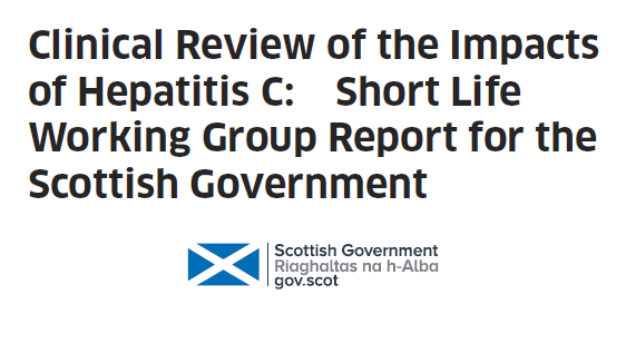 Clinical Review Group Report of the impacts of Hepatitis C infection on chronically infected people